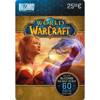 Blizzard - World of Warcraft 60 napos előfizetés (DIGITÁLIS KÓD) (Letölthető) PC