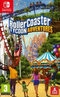 RollerCoaster Tycoon: Adventures (használt) Nintendo Switch