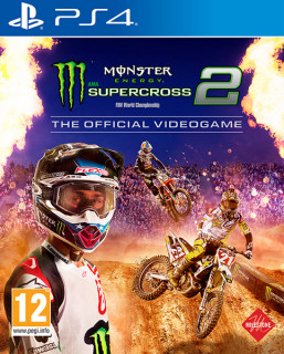 Monster Energy Supercross – The Official Videogame 2 (használt) PS4