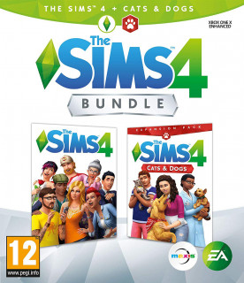 The Sims 4 + Cats & Dogs Bundle Xbox One