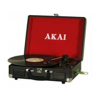 AKAI ATT-E10 Koffer Lemezjátszó USB Felvevővel
