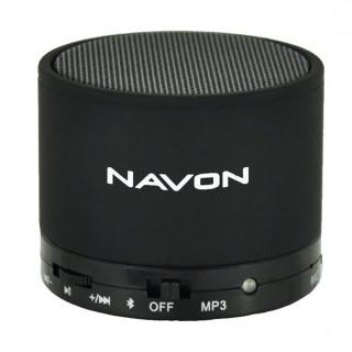 NAVON BTS10BLACK Bluetooth hordozható hangszóró (Fekete) Mobil