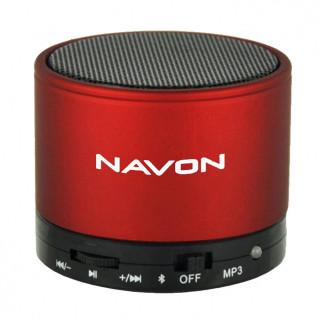 NAVON BTS10RED Bluetooth hordozható hangszóró (Piros) Mobil