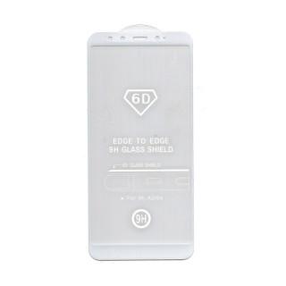 Xiaomi Mi A2 6D Full Glue Prémium minőségű üvegfólia (Fehér) Mobil