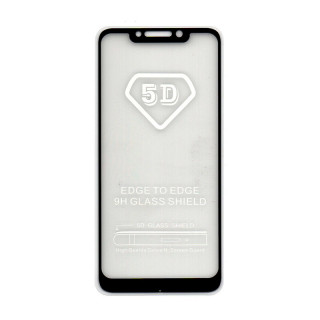 Xiaomi Pocophone F1 5D Full Glue Prémium minőségű üvegfólia (Fekete) Mobil