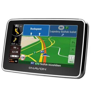 Navon N490 Plus navigáció + iGO8 Magyarország térkép + 1 év térképfrissítés PC