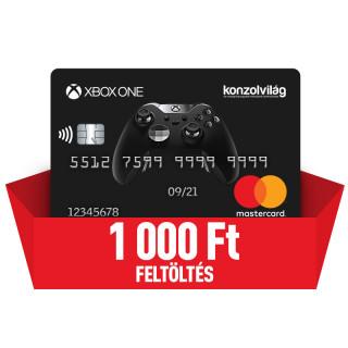 Konzolvilág Mastercard kártya feltöltés 1.000 Ft Több platform