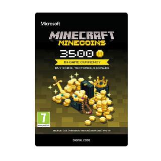 Minecraft Virtuális fizető eszköz  3500 Coins