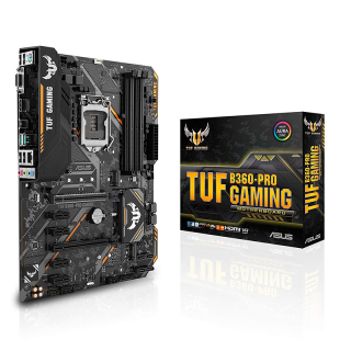 ASUS TUF B360-PRO GAMING Intel B360 LGA1151 ATX alaplap PC