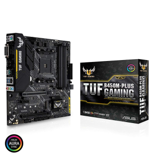 ASUS TUF B450M-PLUS GAMING AMD B450 SocketAM4 mATX alaplap