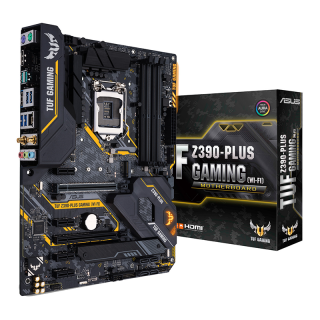 ASUS TUF Z390-PLUS GAMING (WI-FI) Intel Z390 LGA1151 ATX alaplap PC