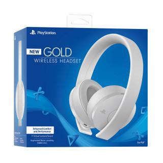 Sony PlayStation Gold Wireless Headset (7.1) (Fehér) MULTI
