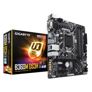 Gigabyte GA-B360M-DS3H Intel B360 LGA1151 mATX alaplap PC