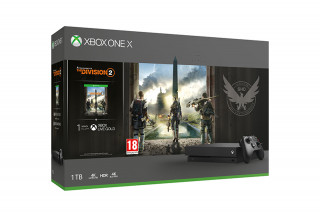 Xbox One X 1TB + Tom Clancy's The Division 2 XBOX ONE