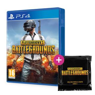 Playerunknown's Battlegrounds + PUBG Felvarró Zsákbamacska PS4