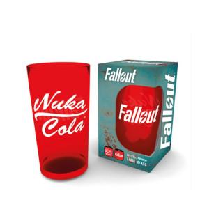 FALLOUT - Üveg Pohár - Nuka Cola (500 ml) AJÁNDÉKTÁRGY