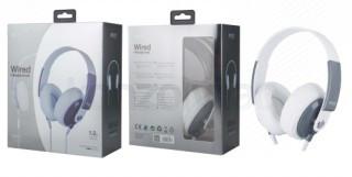 BH241 K3647 Fejhallgató fehér (Bontott)