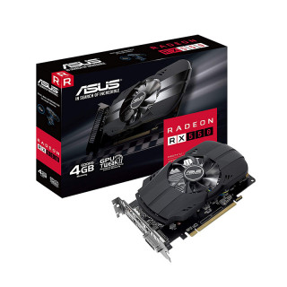 ASUS PH-RX550-4G-M7 4GB GDDR5 128 bit videokártya PC