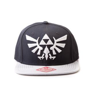 Nintendo - Sapka - Zelda Snapback With Grey Logo AJÁNDÉKTÁRGY