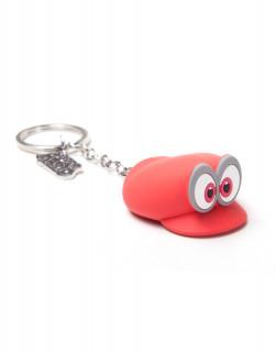 Nintendo - Kulcstartó - Mario Odyssey Hat Rubber 3D Keychain AJÁNDÉKTÁRGY