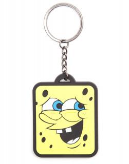 SpongeBob - Kulcstartó - Smiling Rubber Keychain Ajándéktárgyak