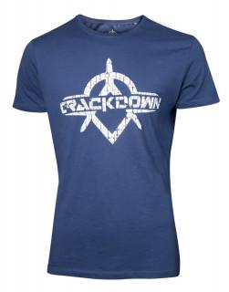 Crackdown - Póló - Logo Men's T-shirt XL AJÁNDÉKTÁRGY