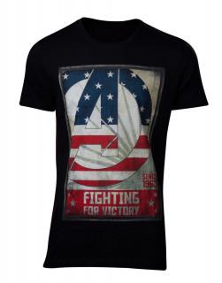 Avengers - Póló - For Victory Men's T-Shirt L AJÁNDÉKTÁRGY