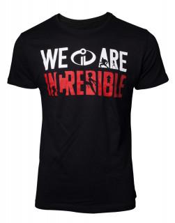 The Incredibles - We Are Incredible Men's - Póló - L Ajándéktárgyak