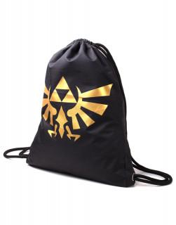 Zelda - Táska - Zelda Generic Metallic Gold Rubber Print Gymbag