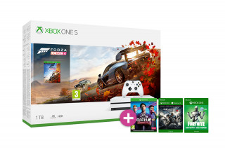 Xbox One S 1TB + Forza Horizon 4 + FIFA 19 + Gears of War 4 XBOX ONE