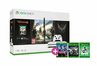 Xbox One S 1TB + The Division 2 + FIFA 19 + Gears of War 4 XBOX ONE