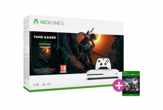 Xbox One S 1TB + Shadow of the Tomb Raider + Gears of War 4 XBOX ONE