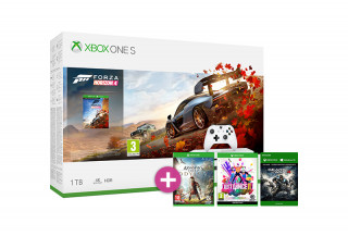 Xbox One S 1TB + Forza Horizon 4 + Assassin's Creed Odyssey + Just Dance 2019 + Gears of War 4 XBOX ONE
