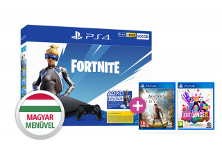 PlayStation 4 (PS4) Slim 500GB + AC Odyssey + Just Dance 2019 PS4