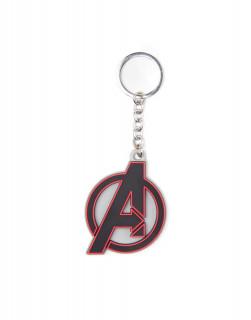 Avengers Logo - Gumi Kulcstartó AJÁNDÉKTÁRGY