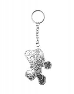 Nintendo Silver Mario Kulcstartó AJÁNDÉKTÁRGY