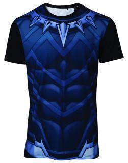 Marvel Sublimated Black Panther Póló (L-es méret) AJÁNDÉKTÁRGY