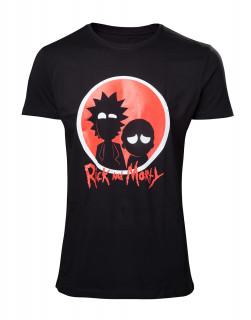 Rick and Morty Big Red Logo (XL-es méret) Ajándéktárgyak