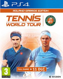 Tennis World Tour Roland Garros Edition (használt) PS4