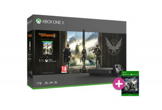 Xbox One X 1TB + The Division 2 + Gears of War 4 XBOX ONE