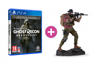 Tom Clancy's Ghost Recon Breakpoint: Ultimate Edition + Nomad szobor PS4