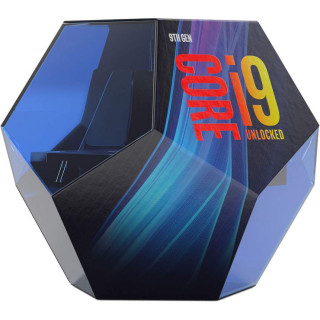 Intel Core i9 3,60GHz LGA1151 16MB (i9-9900K) box (ventilátor nélkül)processzor PC