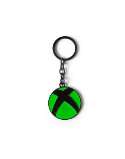 Xbox Metal Logo Kulcstartó AJÁNDÉKTÁRGY