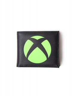 Xbox Logo Bifold Wallet Pénztárca AJÁNDÉKTÁRGY