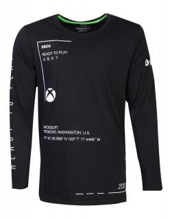 Xbox Ready to Play Longsleeve Shirt - Hosszúujjú Póló - XL-es méret AJÁNDÉKTÁRGY