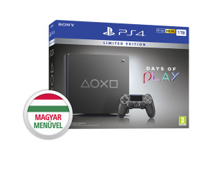 PlayStation4 (PS4) Slim 1TB Days of Play 2019 Limitált Kiadás PS4