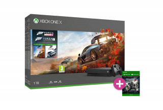 Xbox One X 1TB + Forza Horizon 4 + Forza Motorsport 7 + Gears of War 4 XBOX ONE