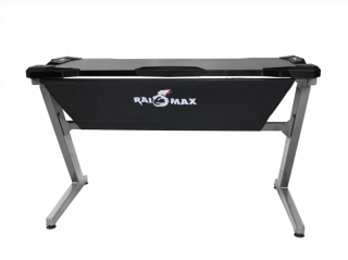 Raidmax DK101 Gaming Desk, Grey/Black PC