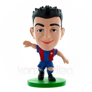 SoccerStarz Barca Toon Xavi Home Kit figura Ajándéktárgyak