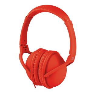 Trust Duga fejhallgató - Piros PC